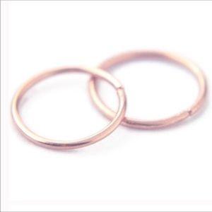 Moodtherapy Jewelry - ‼️🎃SALE WAS 22$🆕🍁2-Seamless Sleeper Hoops